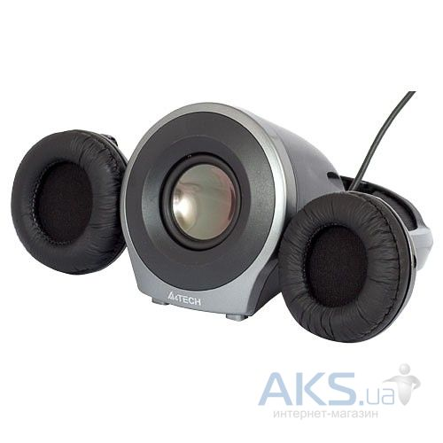 Гарнитура для компьютера A4Tech HSB-100U Black