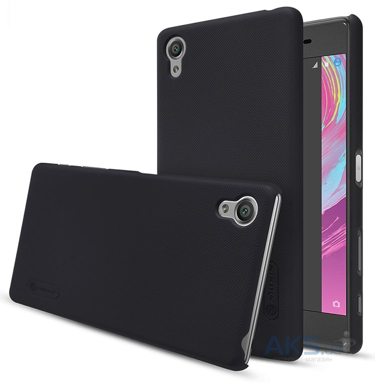 Чехол Nillkin Super Frosted Shield Sony Xperia X, Xperia X Dual Black