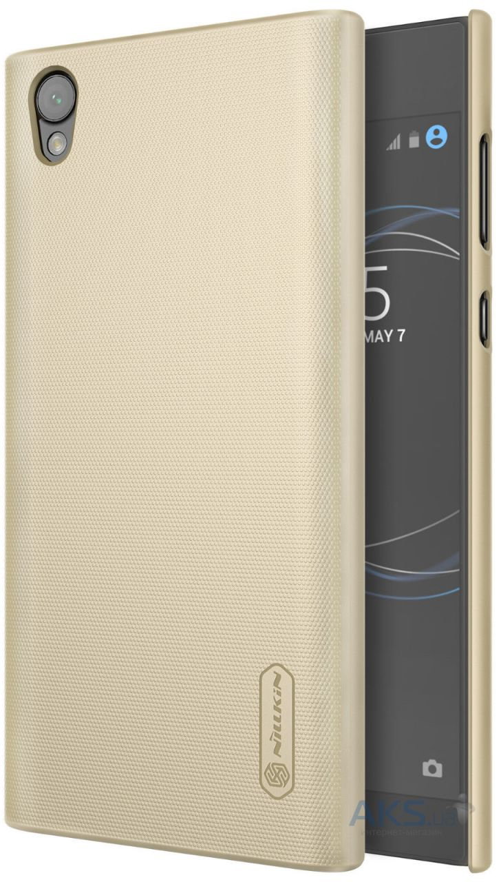 Чехол-накладка Sony Xperia C5 Ultra BROSCO Black C5U-LEATHER-TPU-BLACK