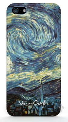 "Чехол Qual Van Gogh Apple iPhone 5, iPhone 5S, iPhone 5SE ""Starry Night"" (QL1112SN) ""Starry Night"" (QL1112SN)"