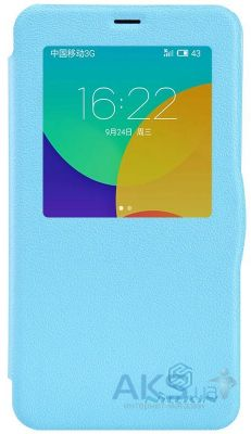 Чехол Nillkin Fresh Leather Series Meizu MX4 Blue