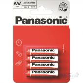 Батарейки Panasonic AAA (R03) Red Zinc 4шт (R03REL/4BP)