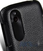 Вид 2 - Чехол Melkco Book leather case for HTC Desire V/Desire X Black (O2DESVLCFB2BKLC)
