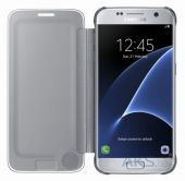 Вид 2 - Чехол Samsung Clear View Cover Series G930 Galaxy S7 Silver (EF-ZG930CSEGRU)