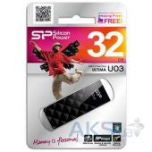 Вид 4 - Флешка Silicon Power 32Gb Ultima U03 Black