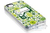 Вид 4 - Чехол ITSkins Phantom cover case for iPhone 5/5S I love iTSkins (APH5-PHANT-GREN)
