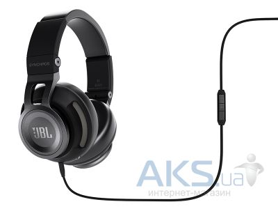 Наушники (гарнитура) JBL On-Ear Headphone Synchros S500 Black (SYNAE500BLK)
