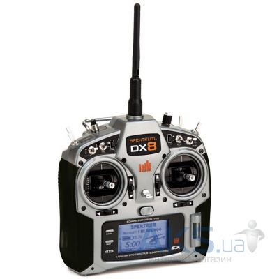 Spektrum Пульт управления DX8 8CH Transmitter with AR8000/TM1000: No Servos
