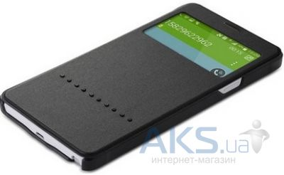 Чехол Rock Rapid Series Samsung N910 Galaxy Note 4 Dark Grey