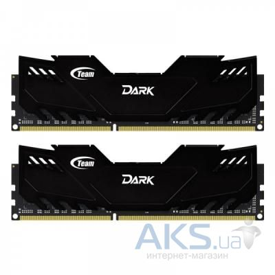 Оперативная память Team DDR-3 8GB (2x4GB) 1866 MHz Dark Series Black (TDKED38G1866HC11DC01)