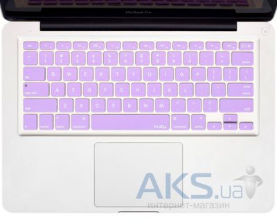 "Накладка на клавиатуру Kuzy Silicone Keyboard Cover for 13"" 15"" 17"" Light Purple"