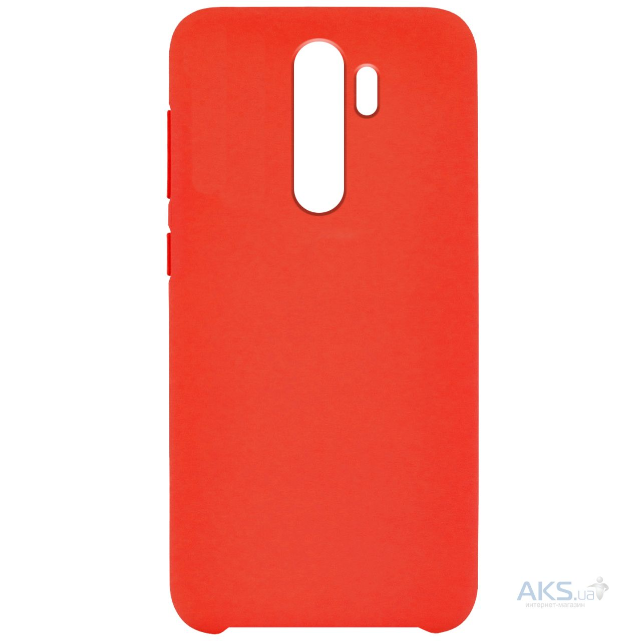 Чехол 1TOUCH Silicone Cover Xiaomi Redmi Note 8 Pro Red - фото 1
