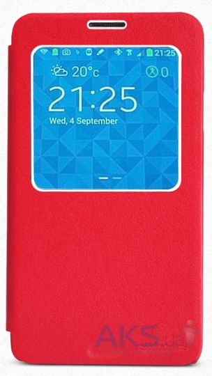 Чехол Nillkin Stylish Leather Series Samsung N9000, N9002, N9005, N9006 Galaxy Note 3 Red
