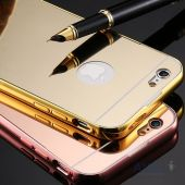 Вид 5 - Чехол Rock Infinite Mirror Series Apple iPhone 6 Plus, iPhone 6S Plus Rose Gold