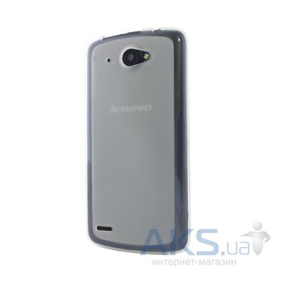 Чехол Original Silicon Case Matte Lenovo A820 White