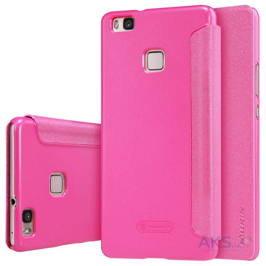 Чехол Nillkin Sparkle Leather Series Huawei Ascend P9 Lite Pink