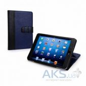 Чехол для планшета Tuff-Luv Manhattan Leather Case Cover with Sleep Function for Apple iPad Mini Navy / Black (I7_27)