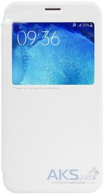 Чехол Nillkin Sparkle Leather Series Samsung J700 Galaxy J7 White