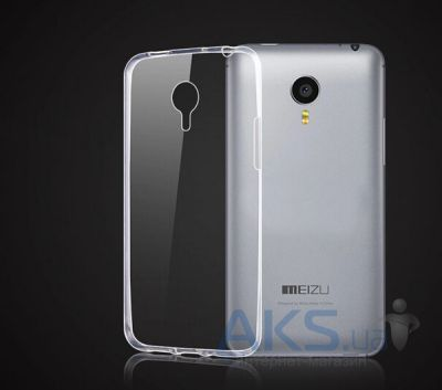 Чехол Remax Ultra Thin Silicon Case Meizu M2 Note Transparent