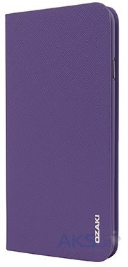 Чехол Ozaki O!coat-0.3+ Folio iPhone 6/6S Purple (OC558PU)