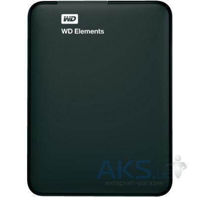 Жесткий диск внешний Western Digital 2.5 USB 3.0 750GB 5400rpm Elements Portable (WDBUZG7500ABK-EESN)