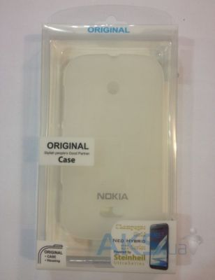 Чехол Celebrity TPU cover case for Nokia 105 White