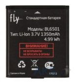 Аккумулятор Fly IQ280 Tech / BL6501 (1350 mAh) Original