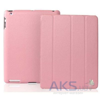 Чехол для планшета JustCase Leather Case For iPad 2/3/4 Pink (SS0006)