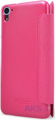 Чехол Nillkin Sparkle Leather Series HTC Desire 826 Pink