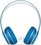 Вид 3 - Наушники (гарнитура) Beats Solo2 On-Ear Headphones Luxe Edition Blue