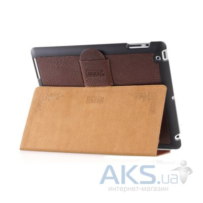 Чехол для планшета iCarer Genuine Leather for Apple iPad 2/3/4 Brown (RID202)