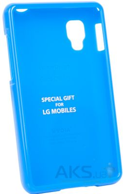 Чехол VOIA Jelly Case for LG Optimus L4 II Dual Blue