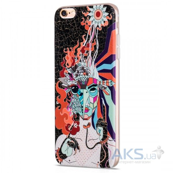 Чехол Hoco Element Series Mythology Firebird Apple iPhone 6, iPhone 6S Black
