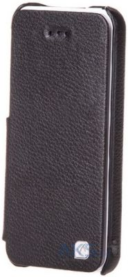 Чехол Hoco Duke book leather case for iPhone 5C Black (HI-L042)