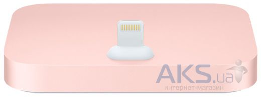Док-станция Apple Dock station for iPhone 5/5S Rose Gold (ML8L2)