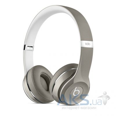 Наушники (гарнитура) Beats Solo2 On-Ear Headphones Luxe Edition Silver
