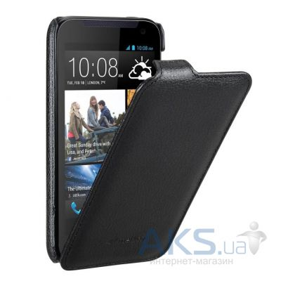 Чехол Melkco Jacka Light PU leather case for HTC Desire 400 Black (O2D31ELCJT1BKPULC)