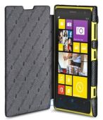 Вид 6 - Чехол Melkco Book leather case for Nokia Lumia 1020 Black (NKLU10LCFB2BKLC)