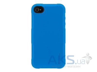 Чехол Griffin Protector Case Apple iPhone 4, iPhone 4S Blue (GB02573)