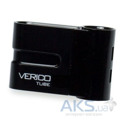 Флешка Verico USB 4Gb Tube Black