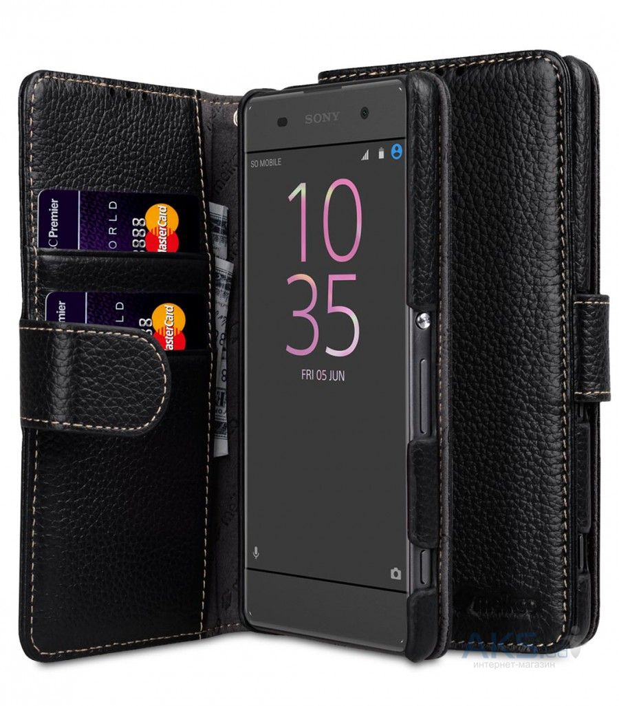 Чехол Melkco Leather Series Sony Xperia X Performance Black