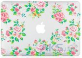 Вид 3 - Чехол Kuzy Vintage Flower Case for MacBook Air 13 White