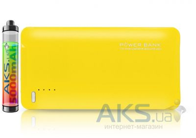 Внешний аккумулятор power bank Maxpower Ultrathin power bank PB-104 5000mAh Yellow