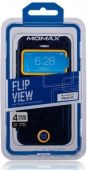 Вид 3 - Чехол Momax Flip View case for iPhone 5C Deep Blue