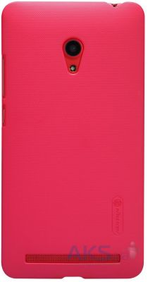 Чехол Nillkin Super Frosted Shield Asus ZenFone 6 A601CG Pink