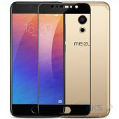 Защитное стекло Tempered Glass 3D Full Cover Meizu Pro 6, Pro 6S Black