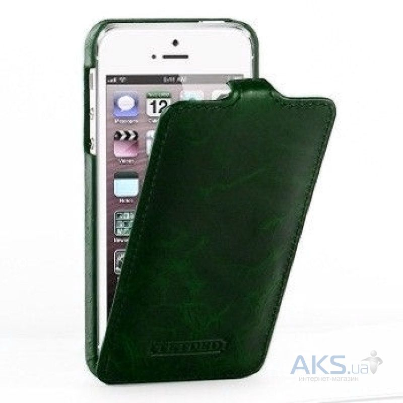 Чехол TETDED Nature Leather Series Apple iPhone 5, iPhone 5S, iPhone SE Lawn Green