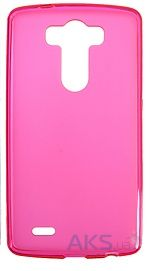 Чехол Remax Ultra Thin Silicon Case LG Y70 Spirit H422 Pink