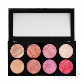 Палетка из 8 румян Makeup Revolution Blush Palette Blush Queen