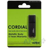 Вид 2 - Флешка Verico USB 4Gb Cordial Black